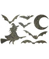 Декор из жидких обоев (Хеллоуин №1) - набор 7шт