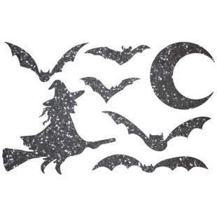 Декор из жидких обоев (Хеллоуин №2) - набор 7шт