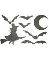 Декор из жидких обоев (Хеллоуин №3) - набор 7шт