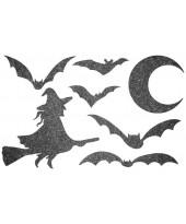 Декор из жидких обоев (Хеллоуин №4) - набор 7шт