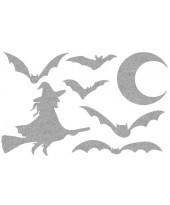 Декор из жидких обоев (Хеллоуин №6) - набор 7шт