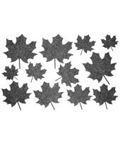 Декор из жидких обоев (Листья №4) - набор 12шт