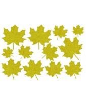Декор из жидких обоев (Листья №5) - набор 12шт
