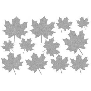 Декор из жидких обоев (Листья №6) - набор 12шт