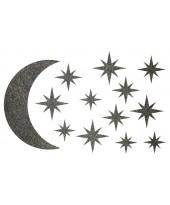 Декор из жидких обоев (Звездное небо №3) - набор 13шт
